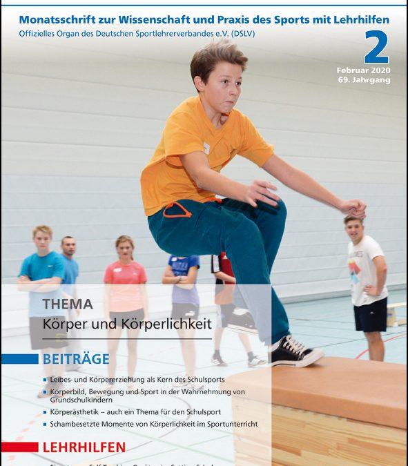 Neue Ausgabe der Zeitschrift Sportunterricht: Februar 2020